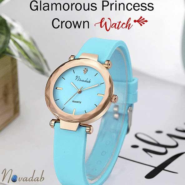 ساعت فیروزه ای رنگ خوش قیمت برای خانمهای جوان