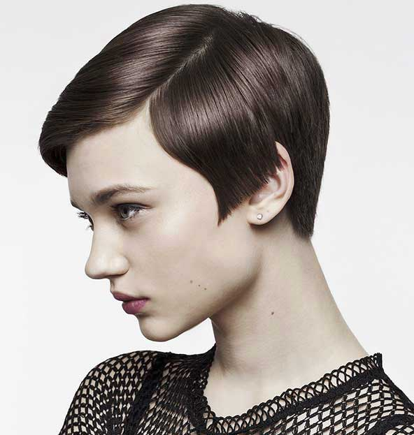 مدل کوتاهی مو دخترانه کلاسیک حالت دار