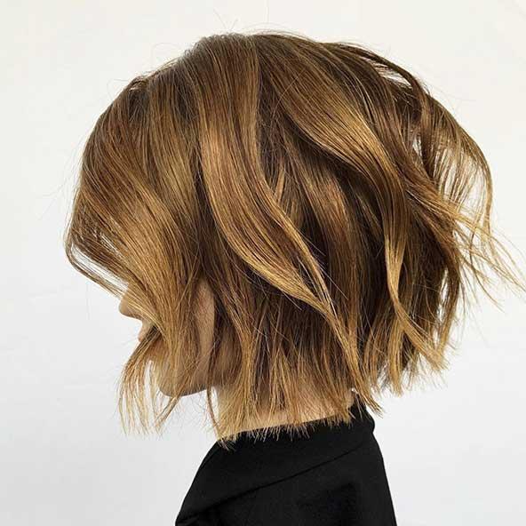 مدل جدید کوتاهی مو دخترانه تا سرشانه