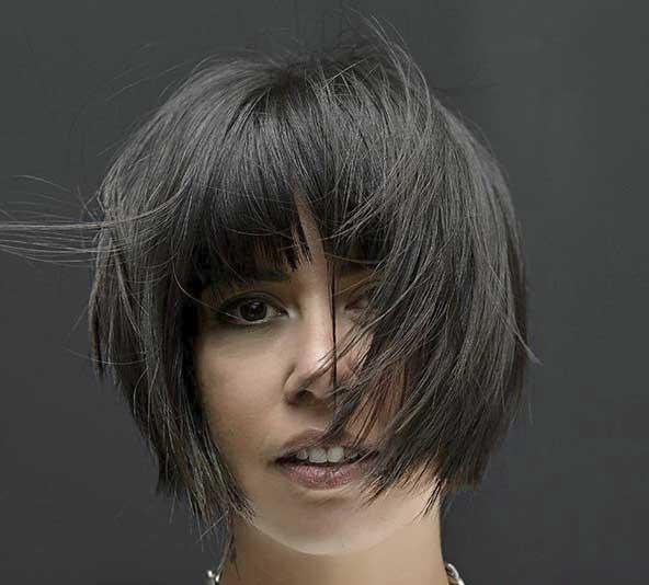 مدل جدید کوتاه کردن موی جلوی سر خانمها