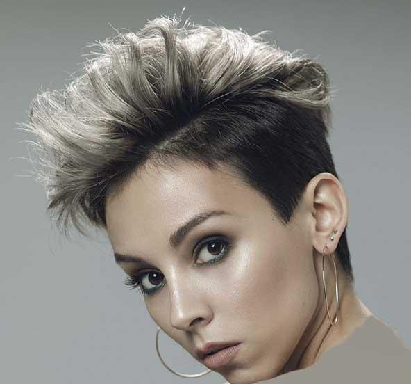 مدل مو کوتاه دخترانه بسیار شیک