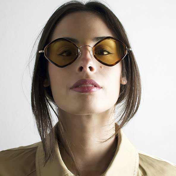 انواع طرح عینکهای زنانه آفتابی برای صورت های بیضی و کشیده