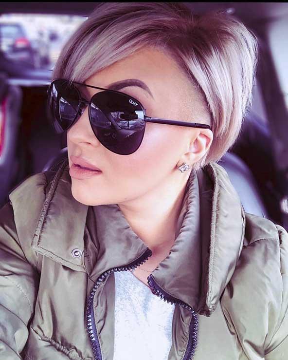 مدل کوتاهی مو زنانه در اینستاگرام