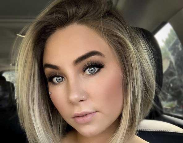 جدیدترین مدل مو کوتاه زنانه برای صورت های گرد