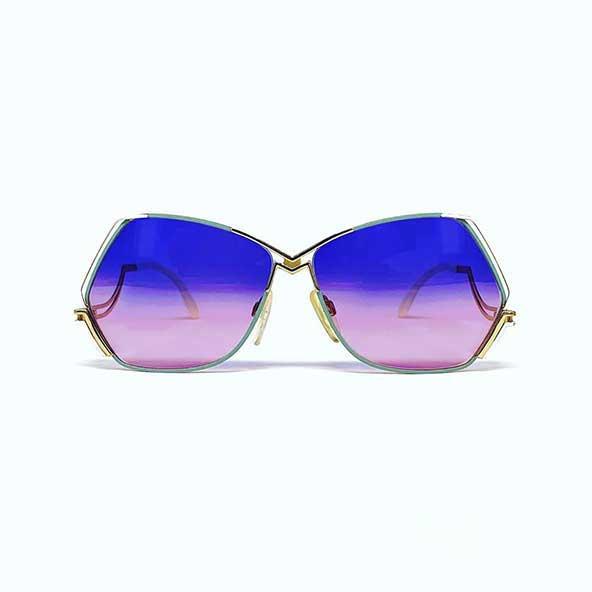 عینک رنگی چند ضلعی مردانه آفتابی با امکان خرید اینترنتی