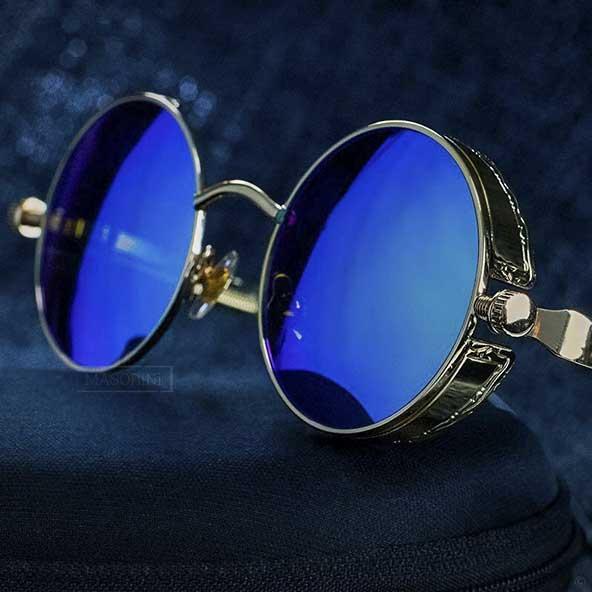عینک فریم گرد ایتالیایی برای آقا پسرهای جوان