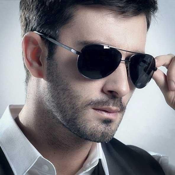 عینک مردانه بسیار خوش استایل برای آقا پسرهای جوان
