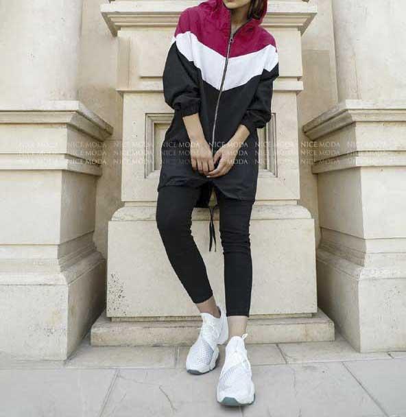 خرید آنلاین سویشرت سه رنگ در دو سایز برای دختر خانم های اسپرت پوش